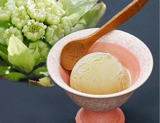 ふきのとうのアイスクリーム