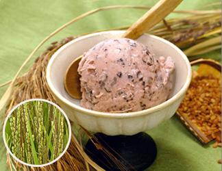 古代米アイスクリーム